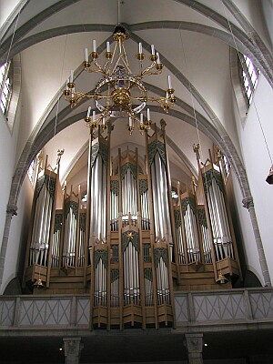 The Sandtner Organ in the Klosterkirche of St. Ottilien