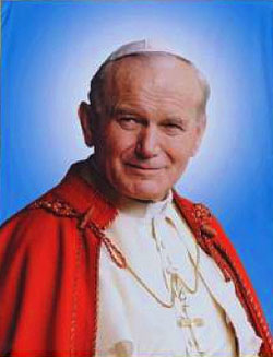 Blessed John Paul II, Pope of the Youth
